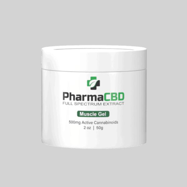 Pharmaceutical-Grade Muscle Gel 500mg