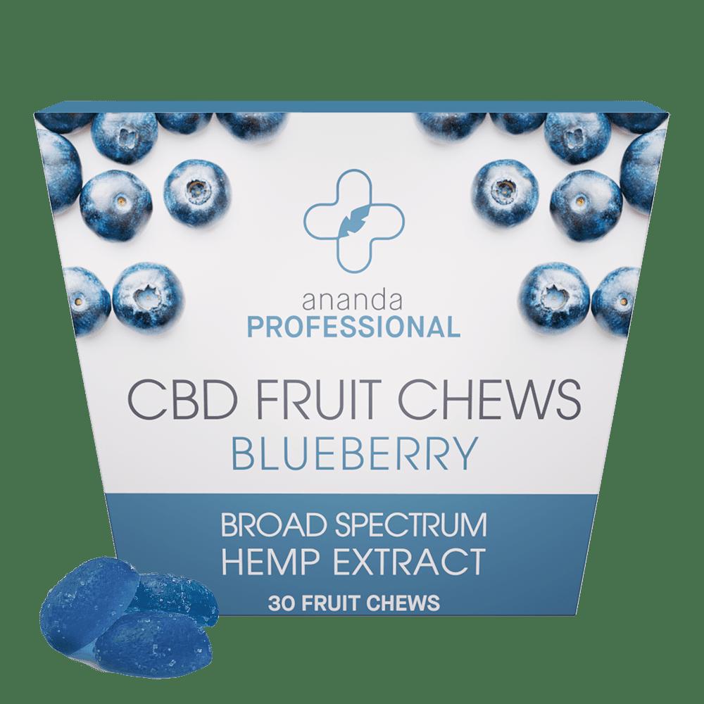 Ananda Professional Fruit Chews - Blueberry