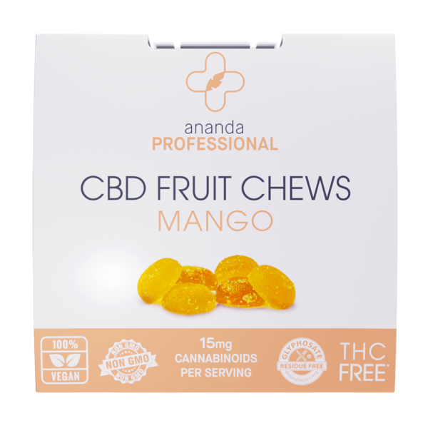 Ananda Professional Fruit Chews - Mango