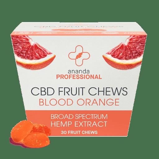 Ananda Professional Fruit Chews - Raspberry